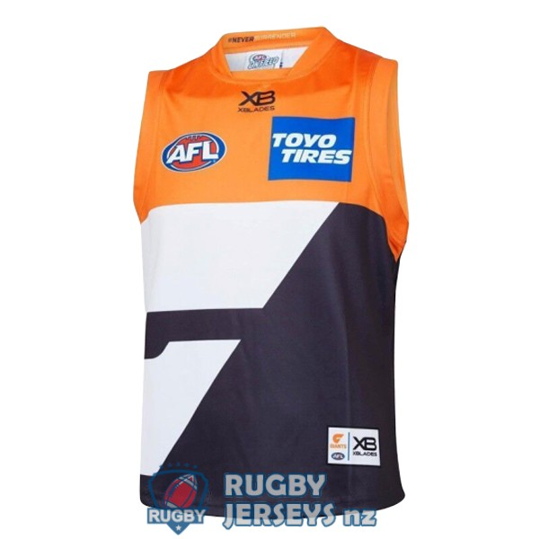GWS giants home 2019 AFL Guernsey jersey