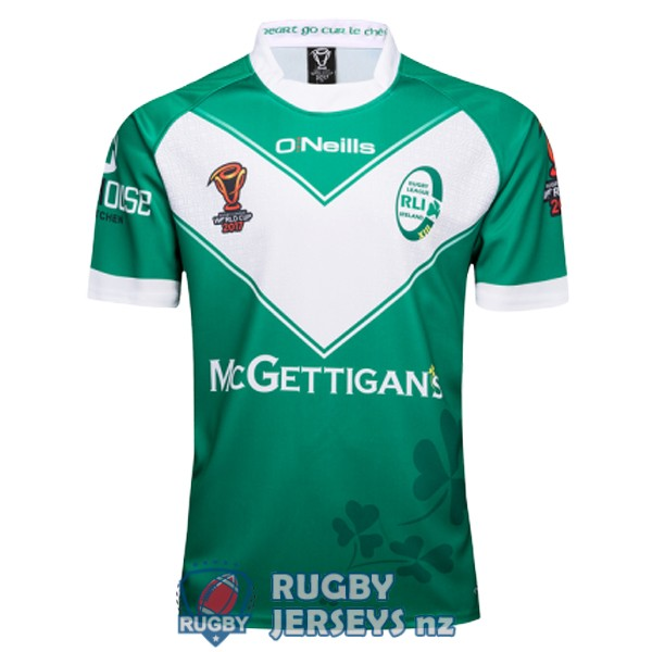 Ireland RLWC home 2017 rugby jersey