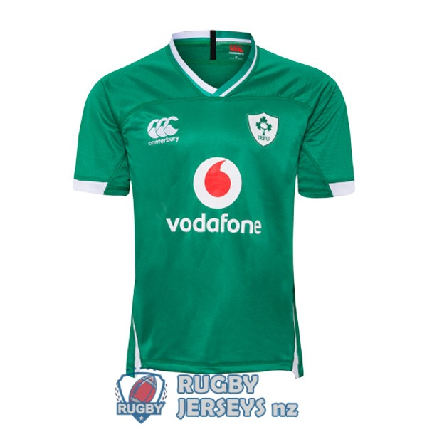 Ireland home 2019-2020 rugby jersey