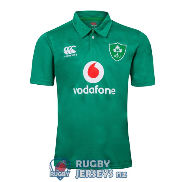 Ireland rugby green 2019 polo