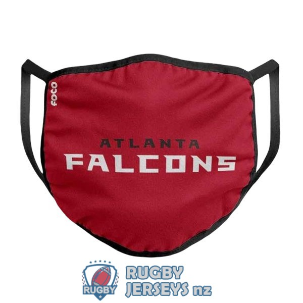 atlanta falcons white red masks