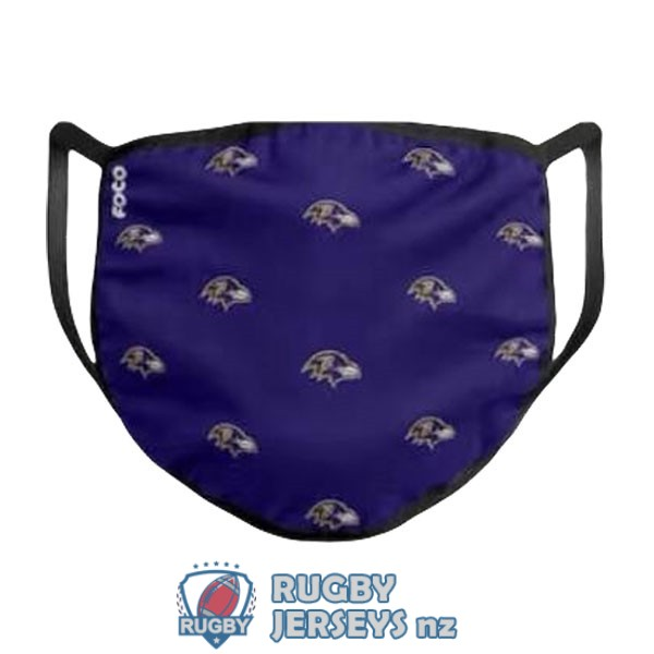 baltimore ravens purple masks