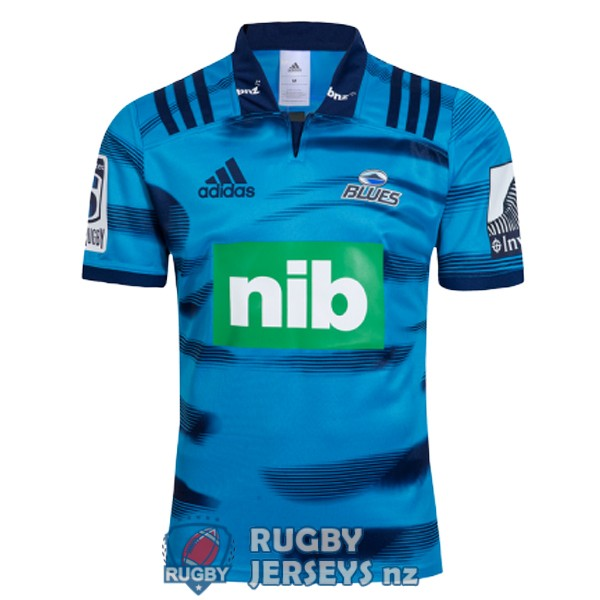 blues home 2018 rugby jersey