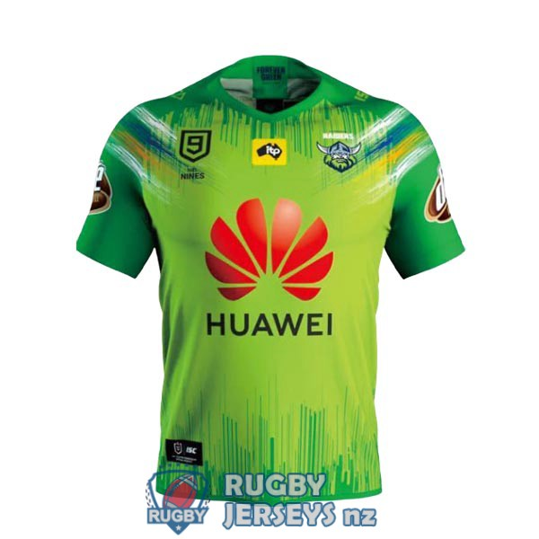 canberra raiders 9s home 2020 rugby jersey
