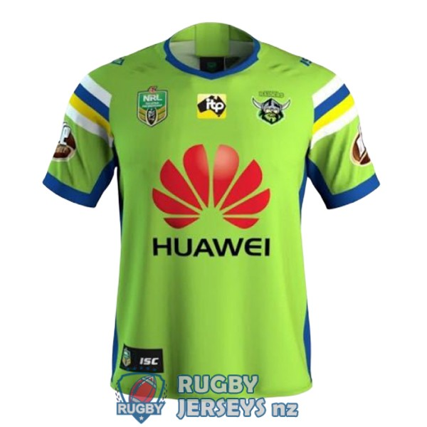 canberra raiders home 2018 rugby jersey