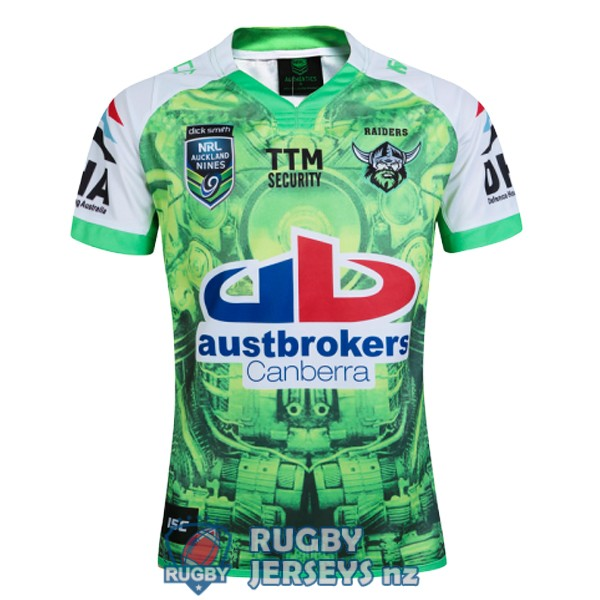 canberra raiders special territory auckland 9s 2016 rugby jersey