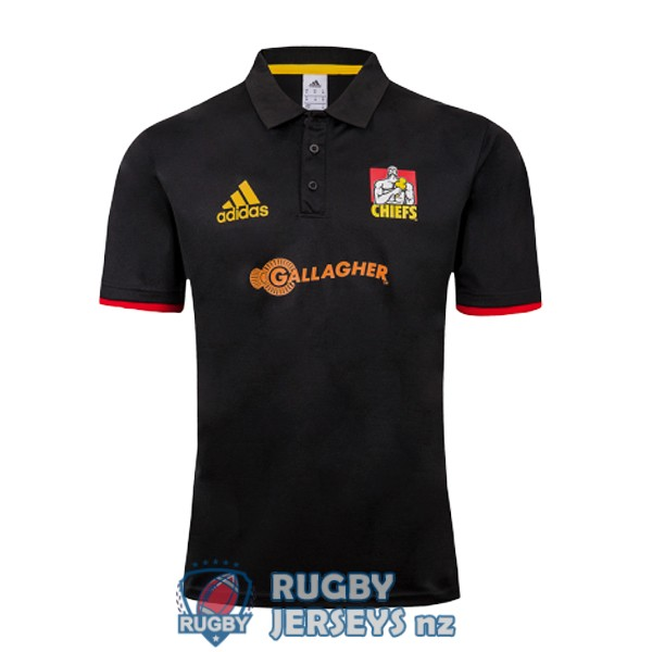 chiefs rugby black 2019 polo