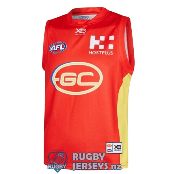 gold coast suns home 2019 AFL Guernsey jersey