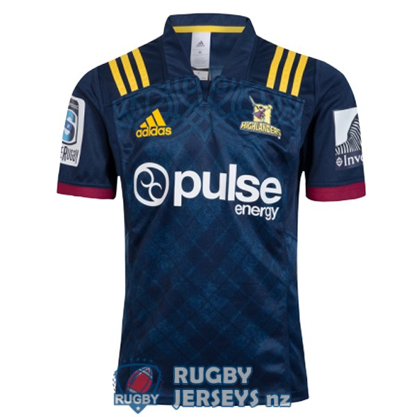highlanders home 2018 rugby jersey