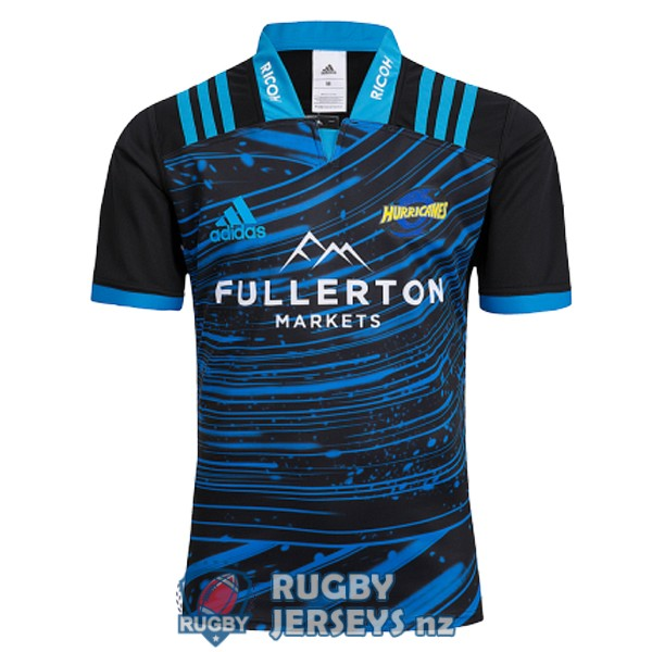 hurricanes training 2018-2019 rugby jersey