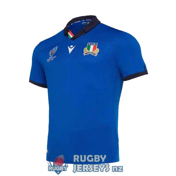 italy blue 2019 rugby RWC jersey