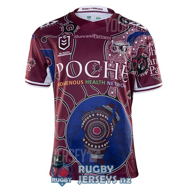 manly sea eagles commemorative 2020 2021 rugby jersey
