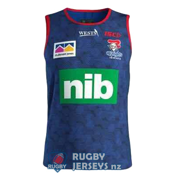 newcastle knights blue 2019 rugby tank top
