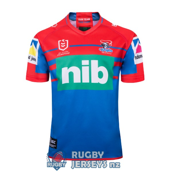 newcastle knights home 2019 rugby jersey