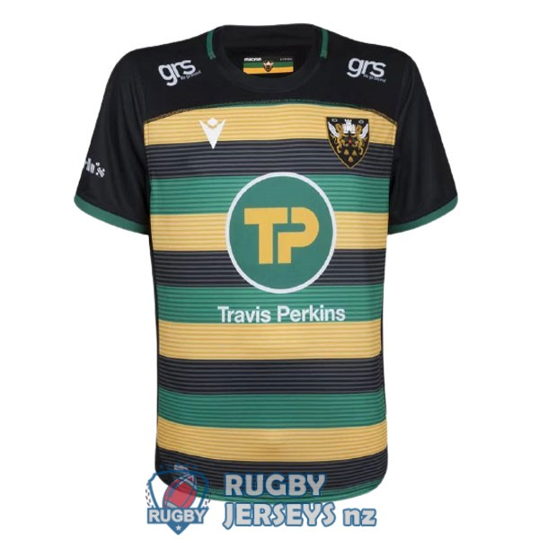 northampton saints home 2021 rugby jersey