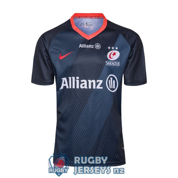 saracens special territory black 2020 rugby jersey