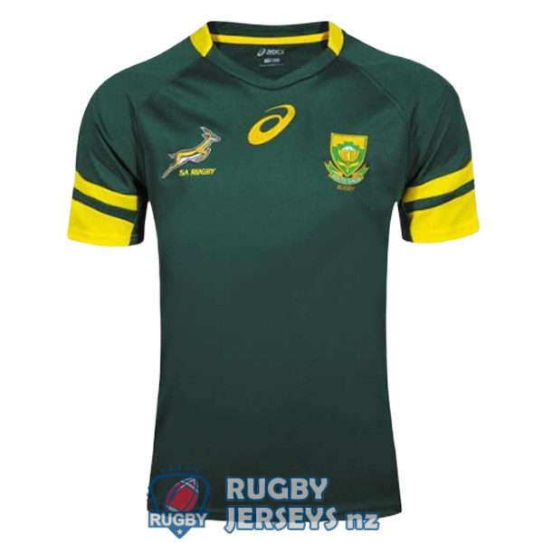 south africa home 2016-2017 rugby jersey
