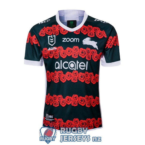 south sydney rabbitohs commemorative 2019-2020 rugby jersey