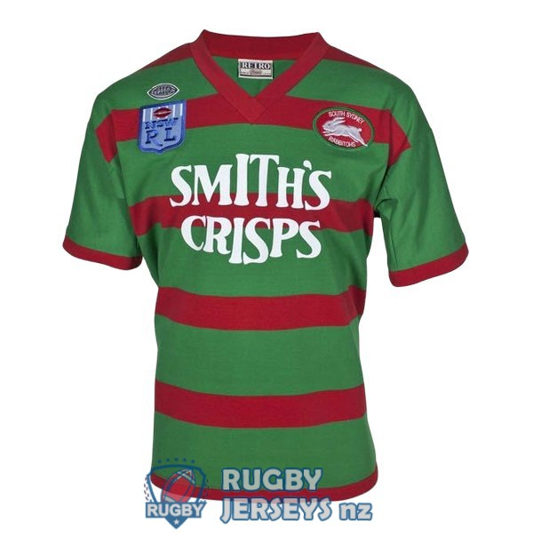 south sydney rabbitohs retro 1989 rugby jersey