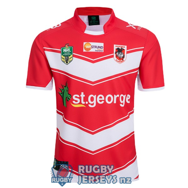 st george illawarra dragons away 2018-2019 rugby jersey