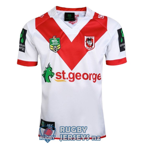 st george illawarra dragons home 2017 rugby jersey
