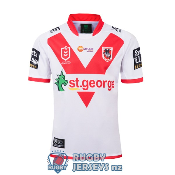 st george illawarra dragons home 2019 rugby jersey