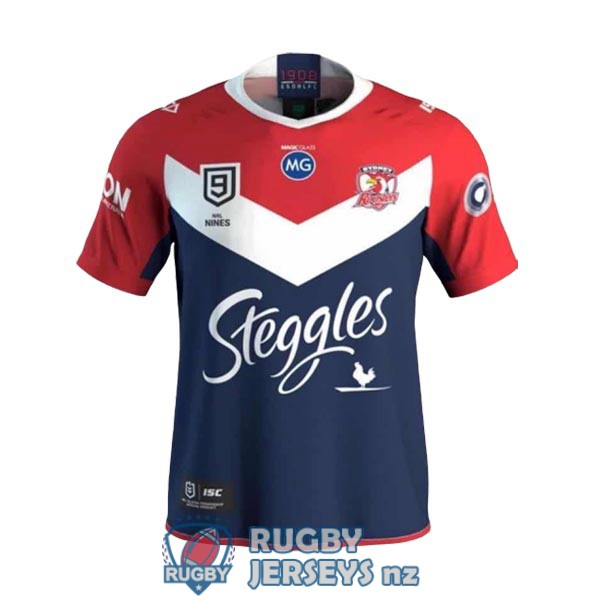 sydney roosters 9s home 2020 rugby jersey