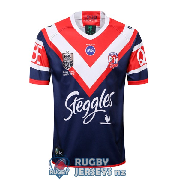 sydney roosters commemorative 2018 rugby jersey
