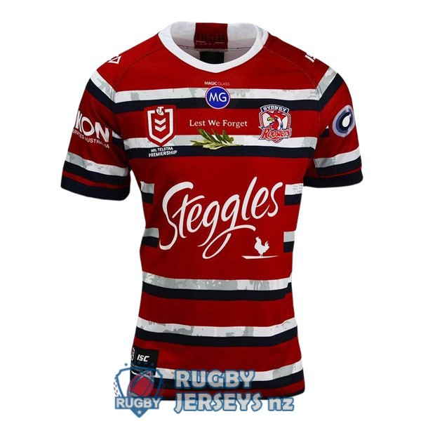 sydney roosters commemorative 2020 rugby jersey