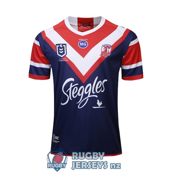 sydney roosters home 2019 rugby jersey