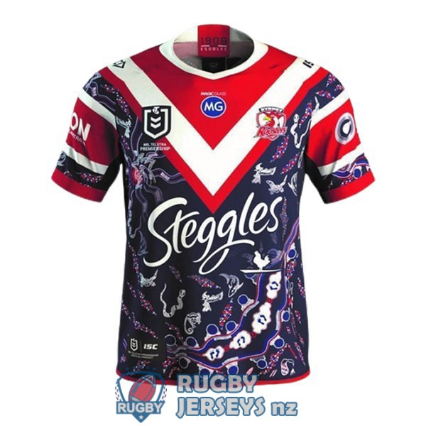 sydney roosters indigenous 2021 rugby jersey