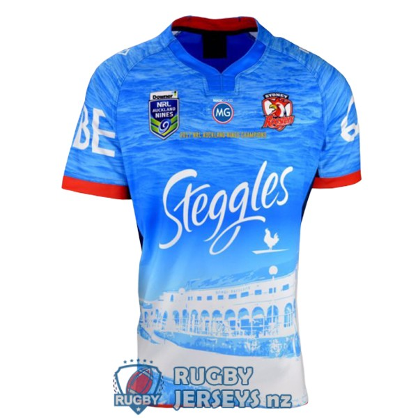 sydney roosters special territory auckland 9s 2017 rugby jersey